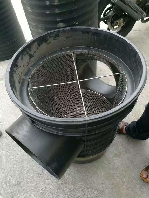 雨水前端截污挂篮装置