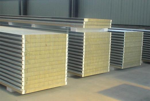 广安岩棉夹芯板工程案例