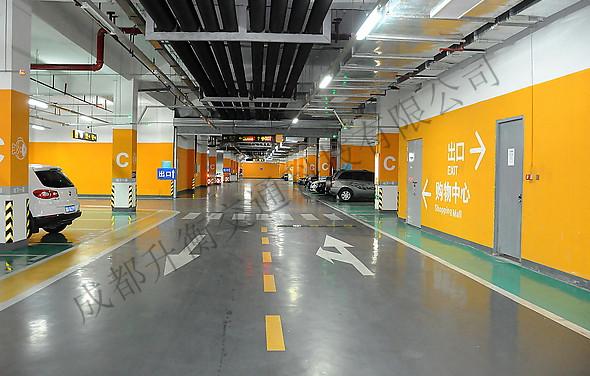 四川车位划线设计