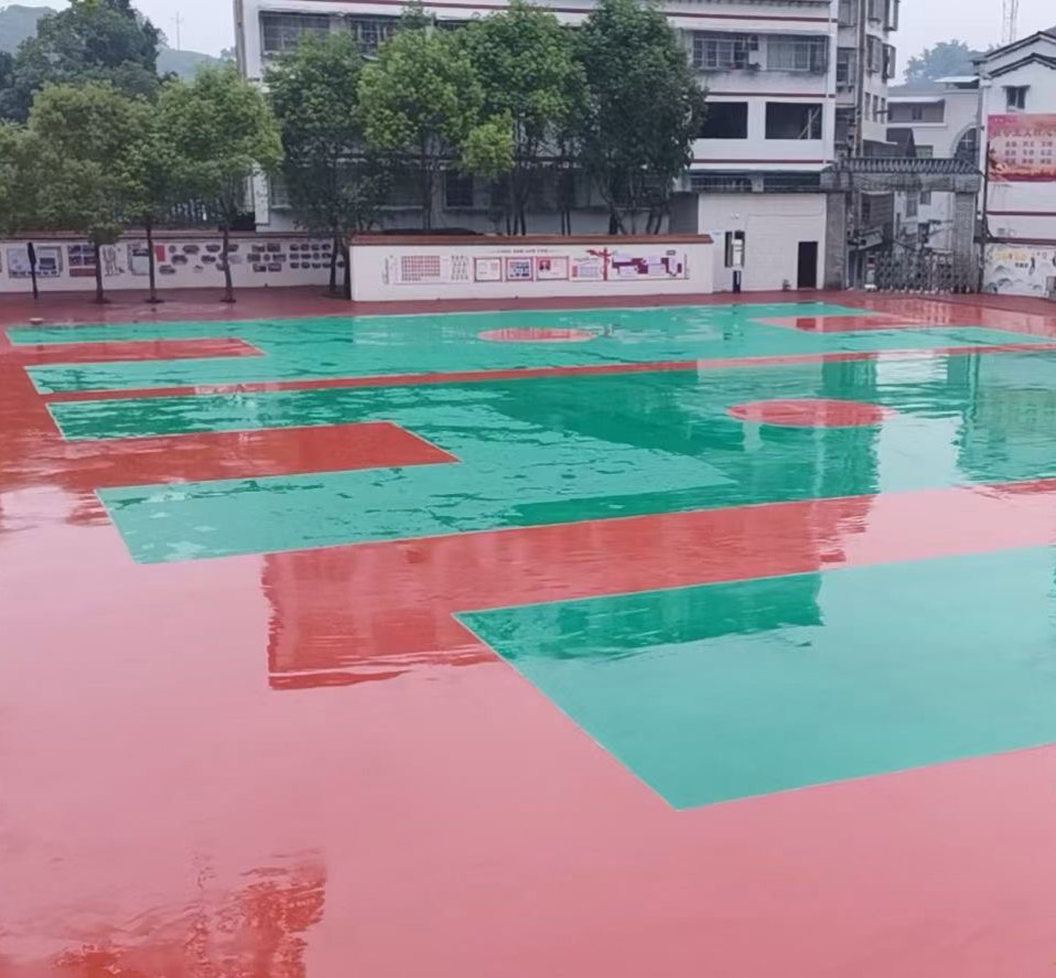 四川硅PU球场材料