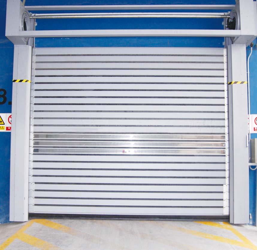 卷帘门安全问题
