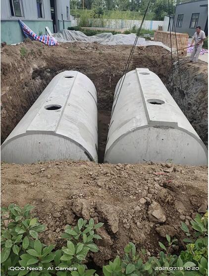 陕西消防水池现场施工案例