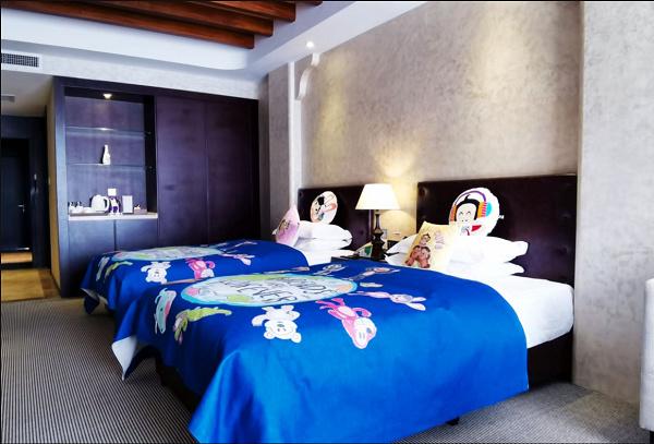 银川特色生活酒店  特色双床房