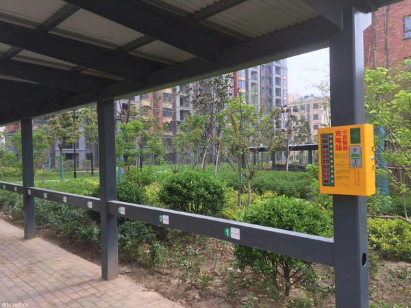 河南小区充电站给各位业主的电动车忠告。