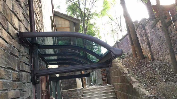 四川雨棚安装案例