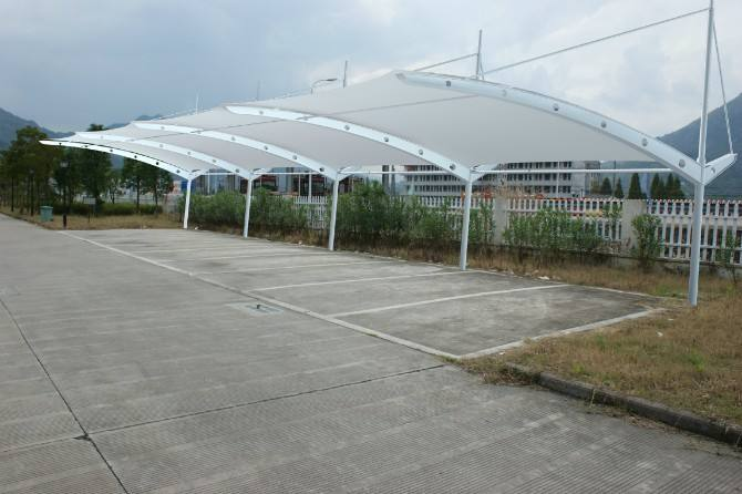 四川停车棚中膜结构停车棚的技术要点