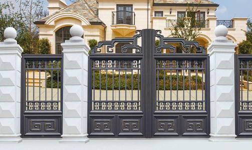 四川鋁藝大門與其它材質大門的優勢