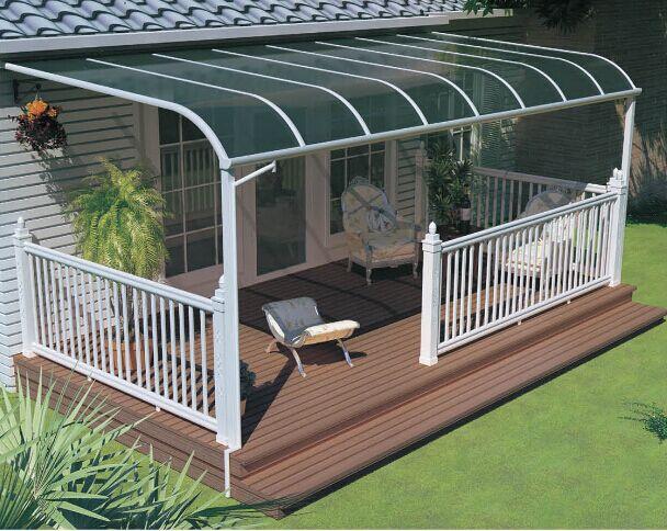 成都鋁合金露台棚剖析鋁合金露台棚、窗棚、車棚戶外雨棚功能