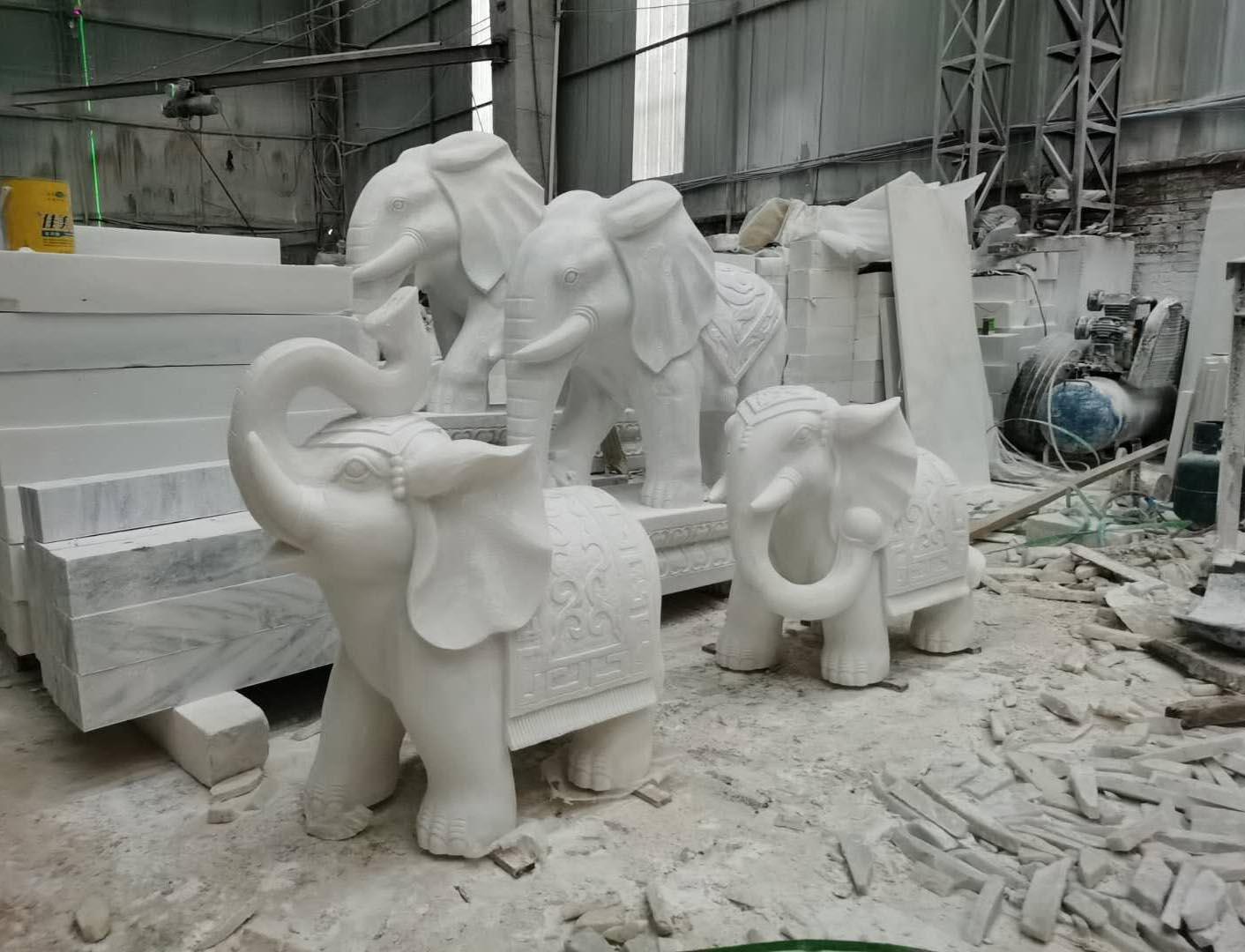 汉白玉雕塑案例