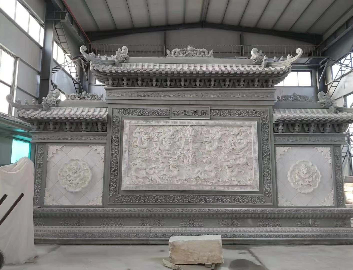 汉白玉浮雕案例