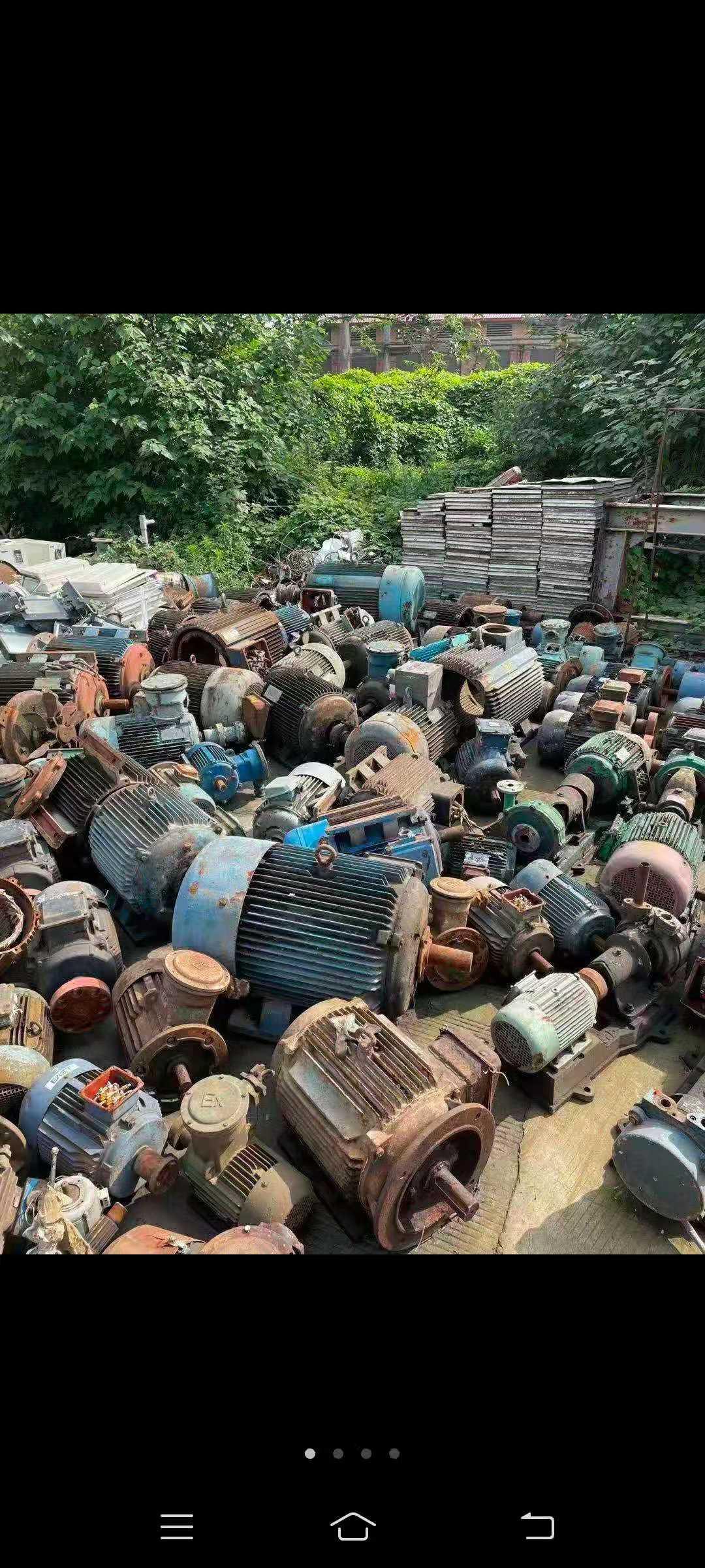 厂房拆除设备回收
