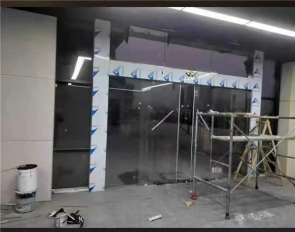 中卫玻璃感应门生产