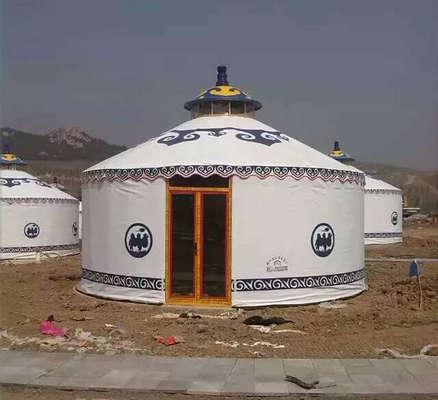 蒙古包帐篷安装