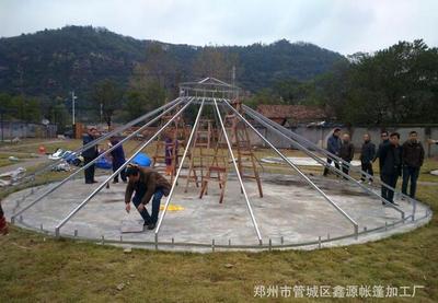 蒙古包帐篷加工