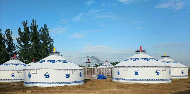 张家口景区蒙古包直径7米耐老化金丝绒设计安装厂家哪家好