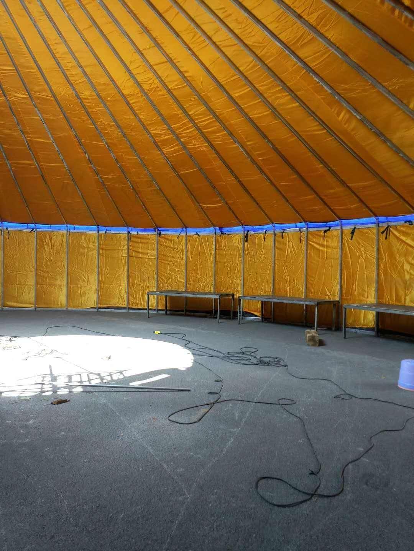 农家院改良钢架蒙古包
