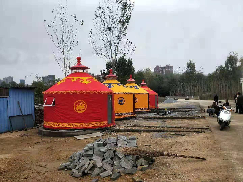 户外生态园蒙古包厂家直销
