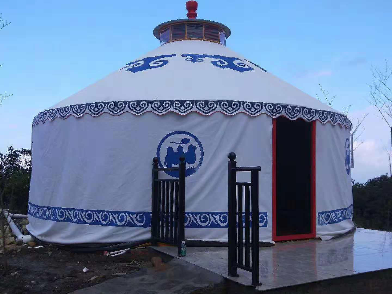 景区蒙古包生产厂家,直径3--20米报价
