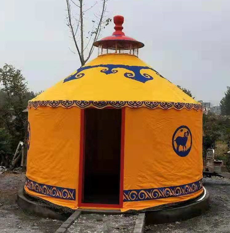 豪华款铝合金蒙古包|旅游景区|餐饮住宿|
