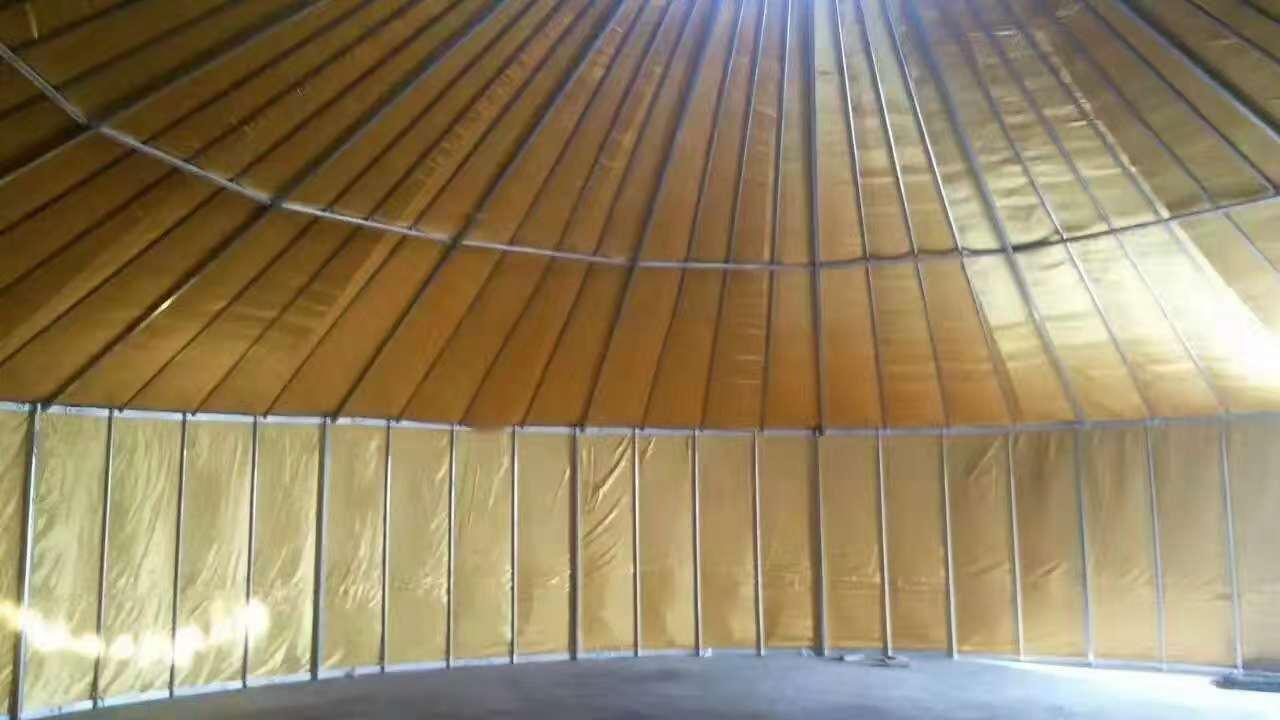 大型改良钢架蒙古包