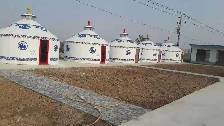 户外生态环保蒙古包,农家院,直径5米以上蒙古包