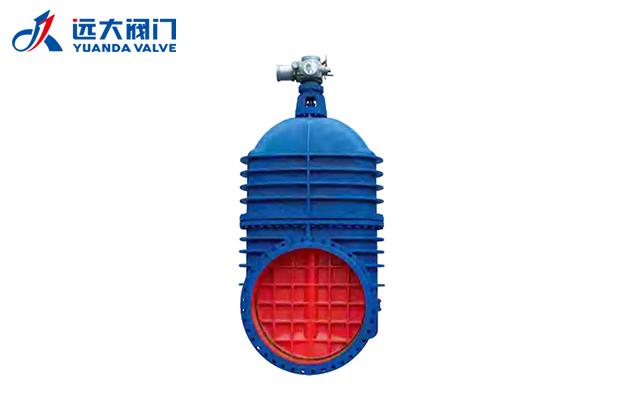 四川水务阀门销售-电动暗杄楔式闸阀 Z945T/W-6/6Q/10/10Q