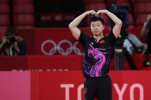 东京奥运会乒乓球男单:马龙夺冠 樊振东获得亚军