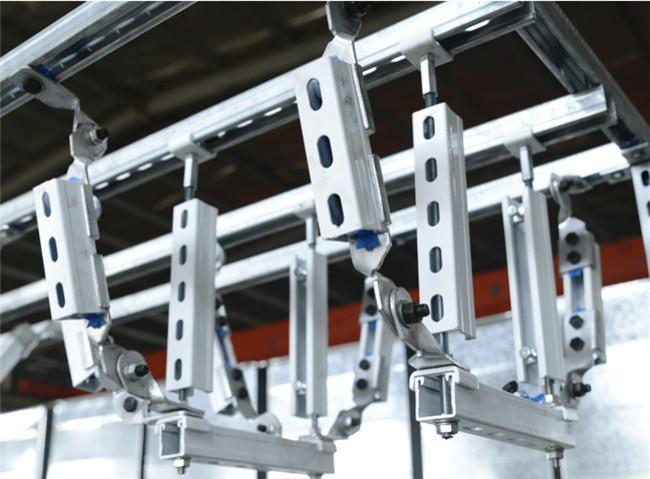 抗震支架施工要点有哪些,如何控制安装误差?