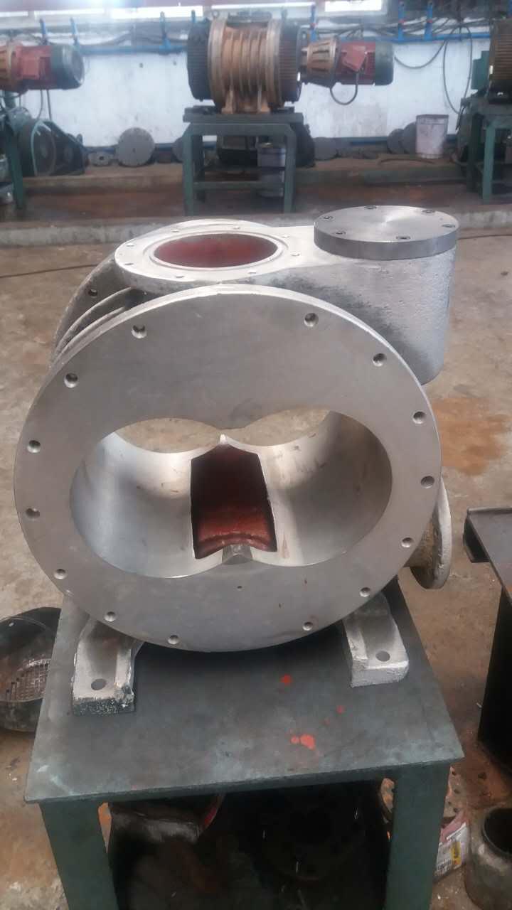 罗茨真空泵内部结构