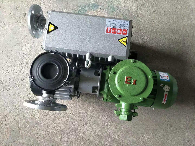 旋片式真空泵的噪声及处理方法