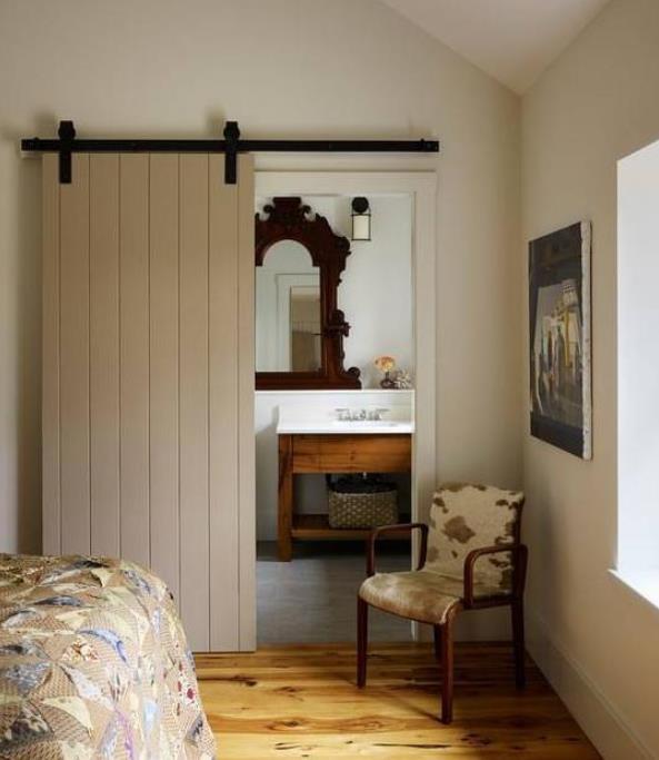家里装修安装谷仓门并不是每家都适合,注意符合这几点要求才可以