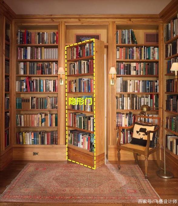 3种隐形门设计,拿给你家师傅看看,房门对着客厅,储物都不是事