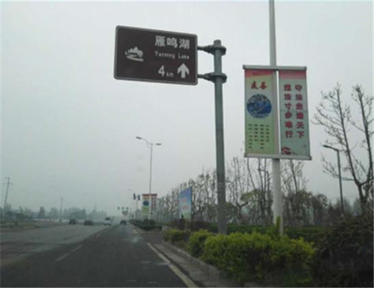 河南市区广告-中牟景观大道(中牟县北环至连霍中牟下站口处)