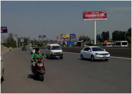 河南【市区广告】郑新快速路与西南绕城高速互通北500米