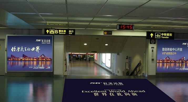 郑州机场广告投放价格