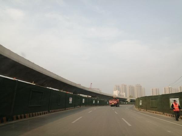 郑州西四环高架主线试通车 明年4月30日前四环线高架全部通车