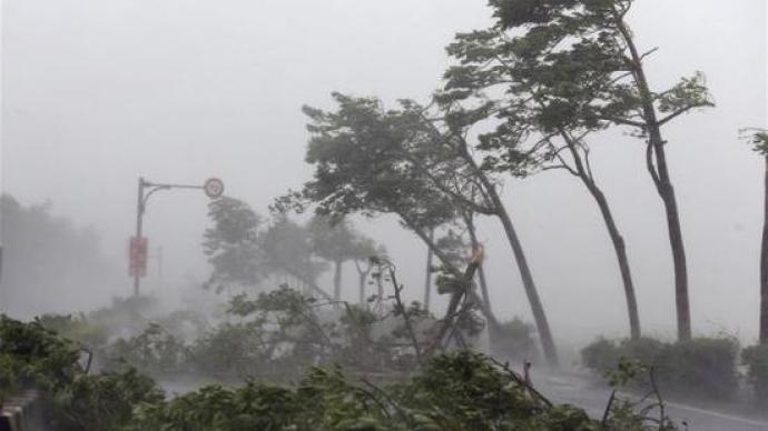 浙江提升防台风应急响应至Ⅰ级 多地停课