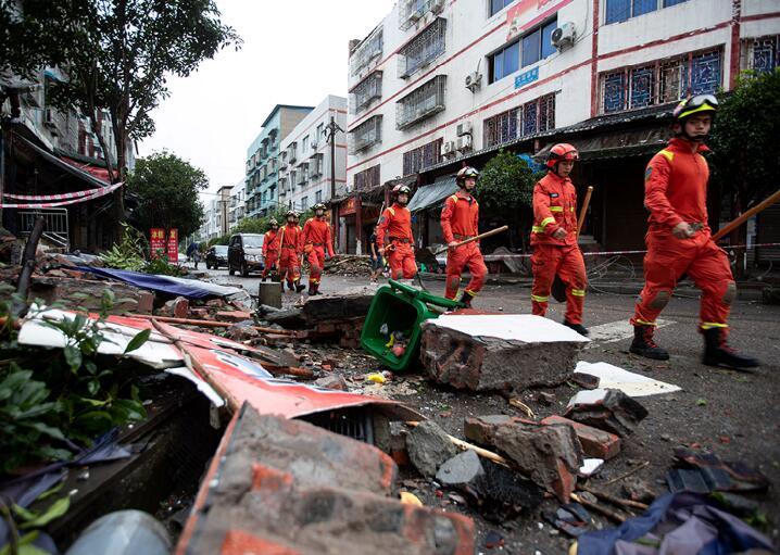 泸县初次多方搜救工作完成 无新增死亡