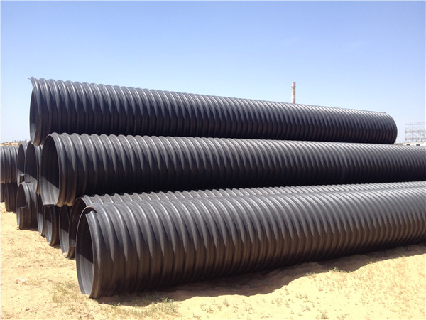 你知道PE钢带增强管与PE塑钢缠绕管的区别吗?