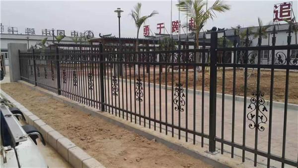 中铁项目部围栏案例