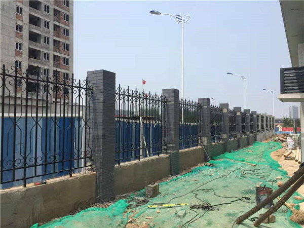 航天城污水厂围栏案例