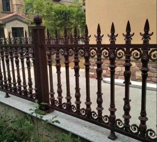 延安铝艺围栏设计