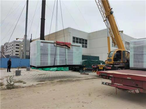汉钟双级永磁变频315KW 批量到达项目现场