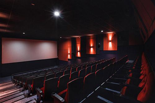 商业中心-电影院