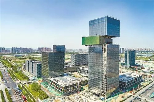 西咸新区能源金融贸易园区企业消防改造