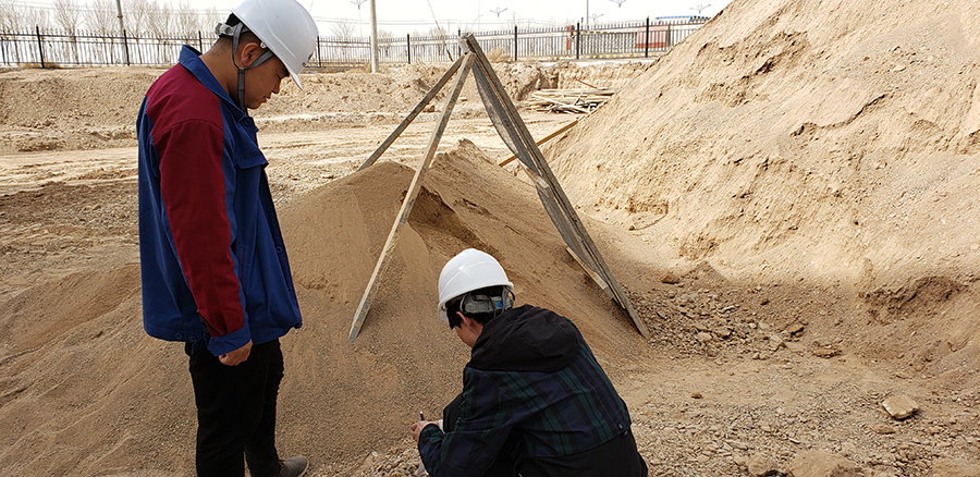 岩土工程检测现场