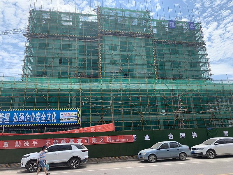 礼县海宇 桃园住宅小区地下室检测