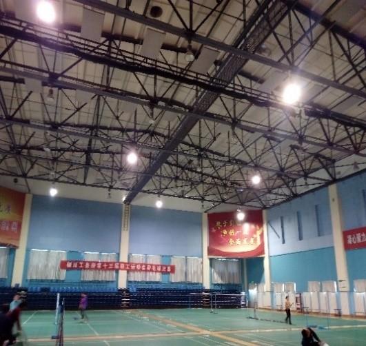 银川市银铁体育馆钢屋架结构安全性检测鉴定