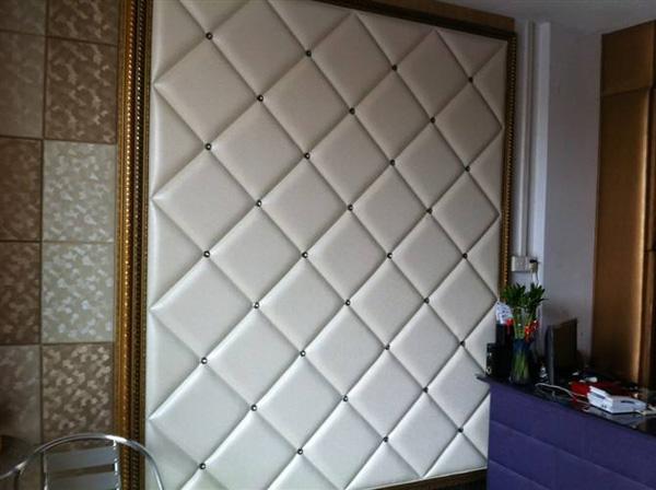 硬包背景墙,简洁的漂亮!