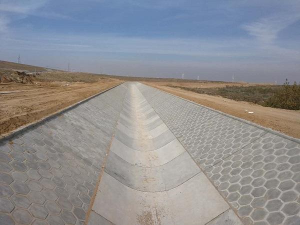 四川干渠砌护水利施工监测